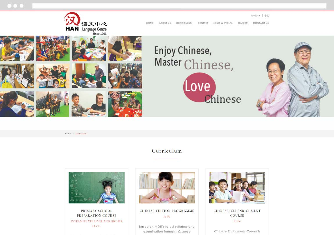 Dual Language Website, CMS website design, Customized Website Development Company