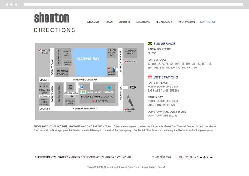 Singapore Web Design for Dental Clinic
