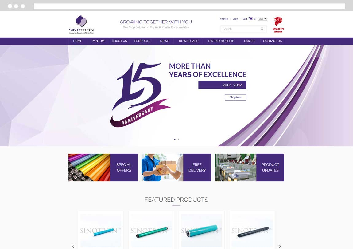 Singapore Ecommerce, Ecommerce web design, e-commerce website design