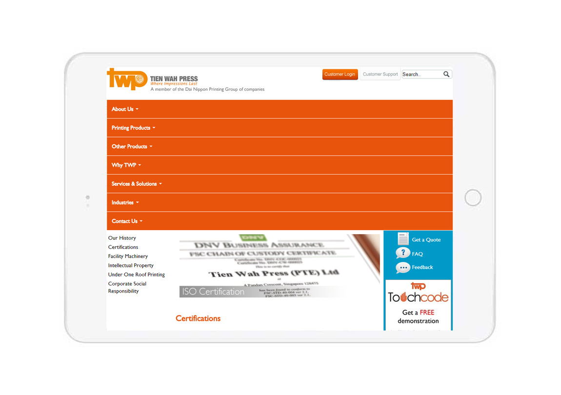Customized website development, custom web development Singapore, Singapore web design company