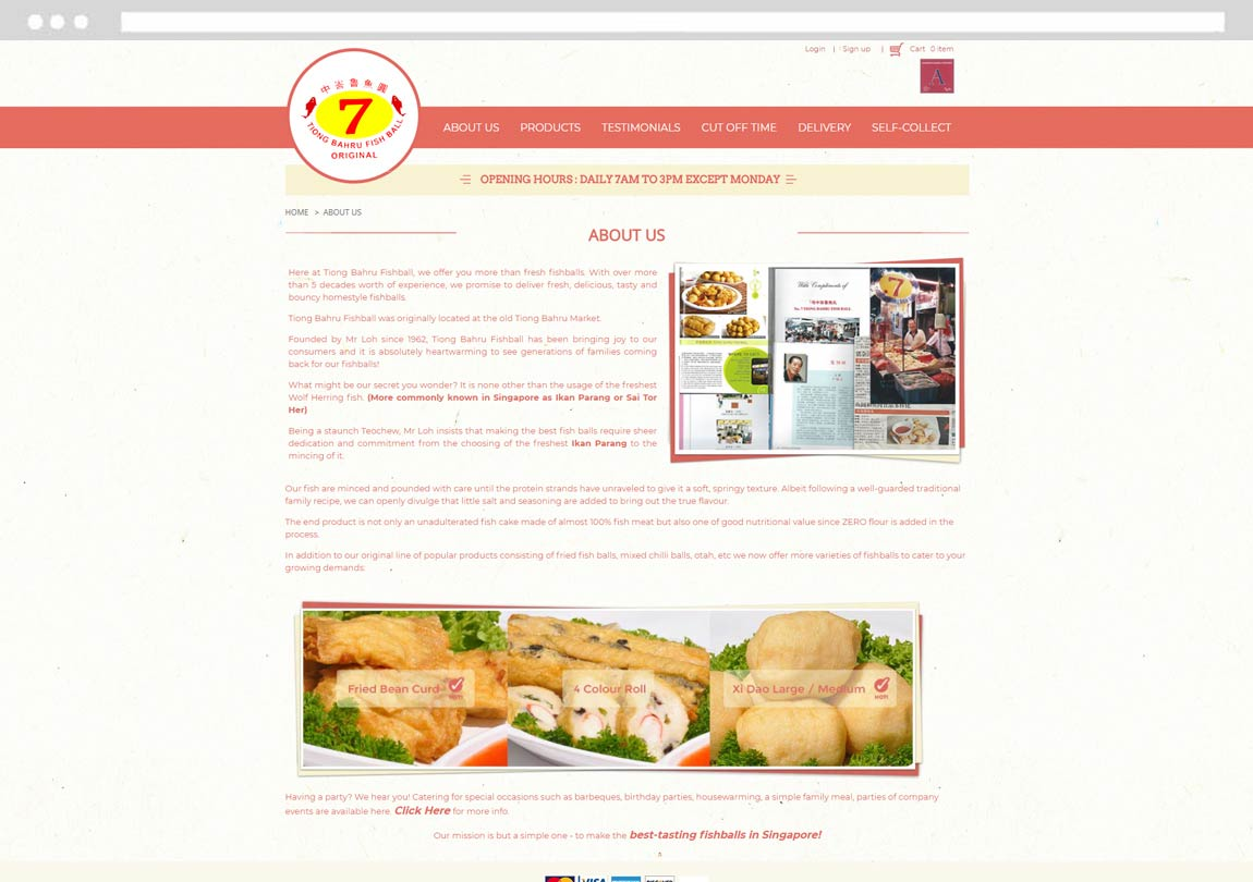 Develop Ecommerce Website, Develop Online Store, Develop Online Food Ordering System