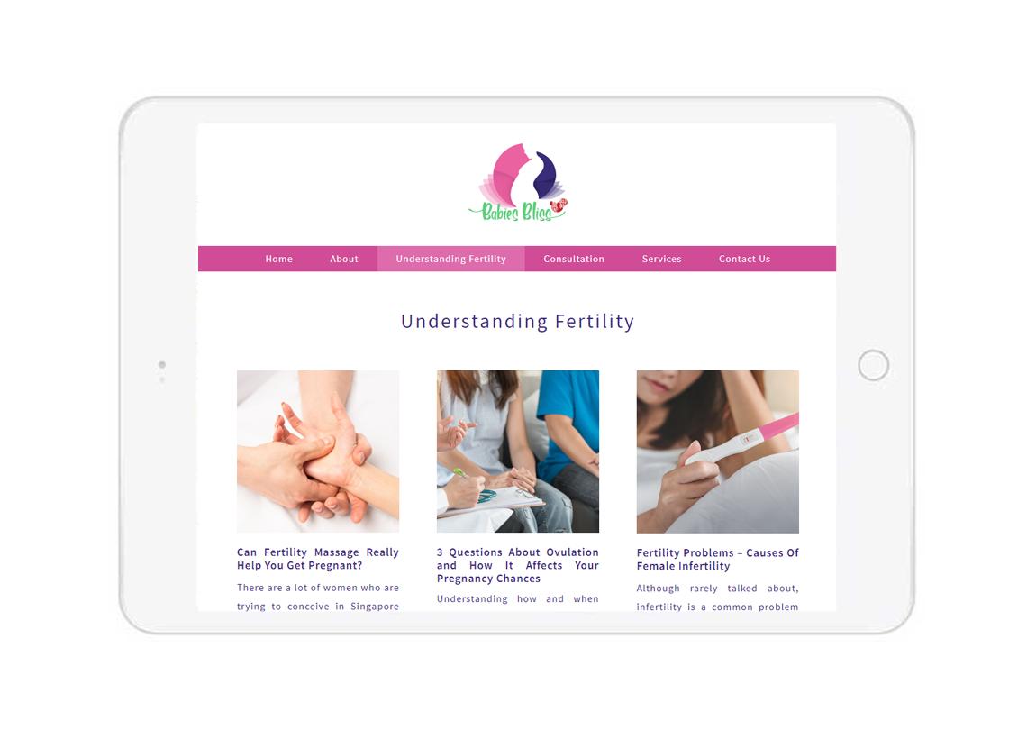CMS web design, doctor website design, clinic web design company